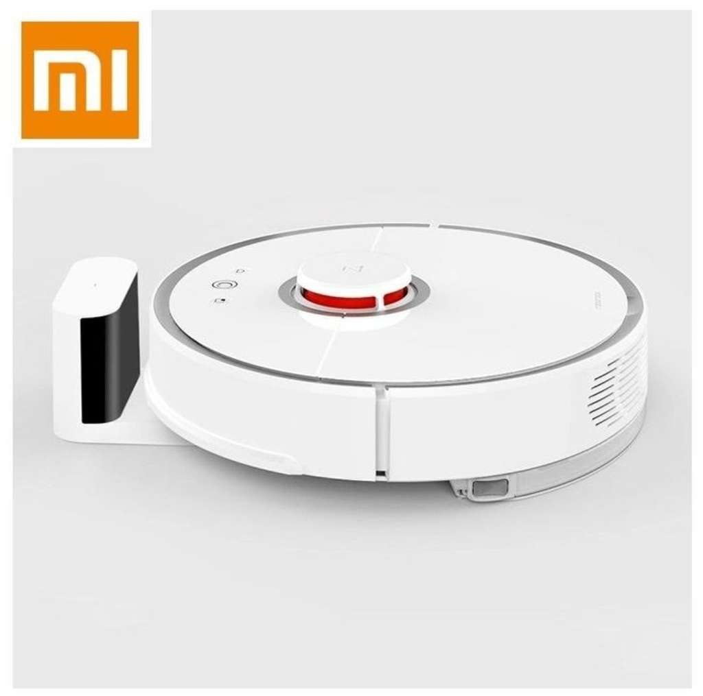 aspirateur robot xiaomi mi roborock s50 v2 blanc 99 90 en super points via l 39 application. Black Bedroom Furniture Sets. Home Design Ideas
