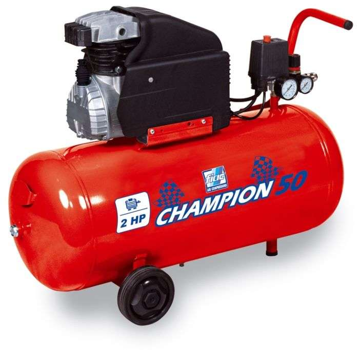 Compresseur champion 50l 2cv cosmos 255 - Compresseur mr bricolage ...