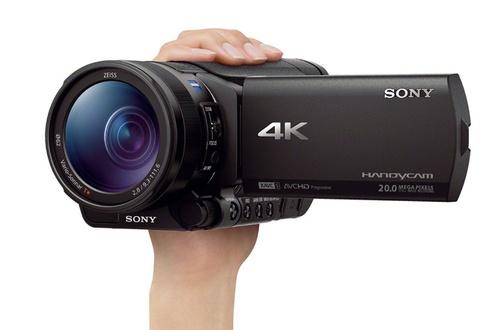 cam scope 4k sony fdr ax100 noir. Black Bedroom Furniture Sets. Home Design Ideas