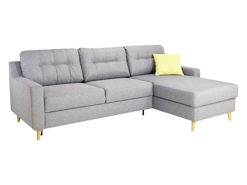 canap d 39 angle salvea convertible et r versible en tissu 4 places. Black Bedroom Furniture Sets. Home Design Ideas