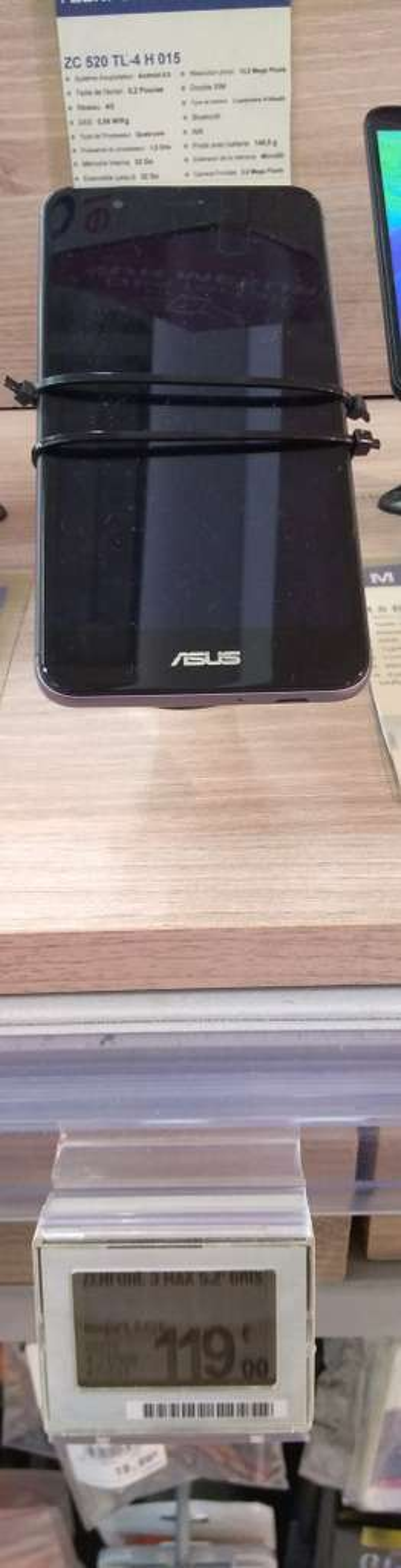 Smartphone 52 Asus Zenfone 3 Max Gris