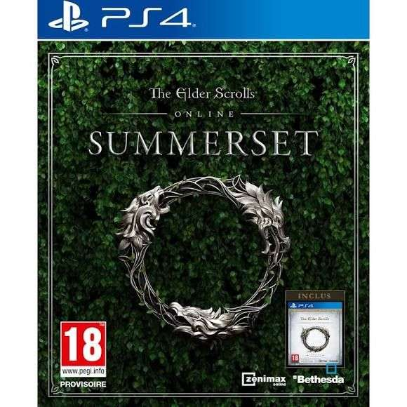 the elder scrolls online summerset sur xbox one pc ou ps4. Black Bedroom Furniture Sets. Home Design Ideas