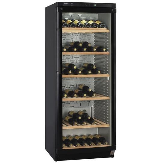 cave vin de vieillissement haier jc398ga 174 bouteilles. Black Bedroom Furniture Sets. Home Design Ideas