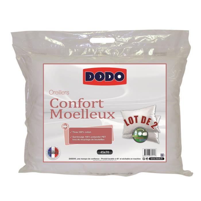 oreiller dodo vegetal 45x70 oreiller vegetal dodo maison. Black Bedroom Furniture Sets. Home Design Ideas