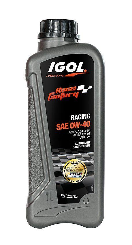 Huile moteur igol race factory racing 0w40 - Code promo mister auto frais port offert ...