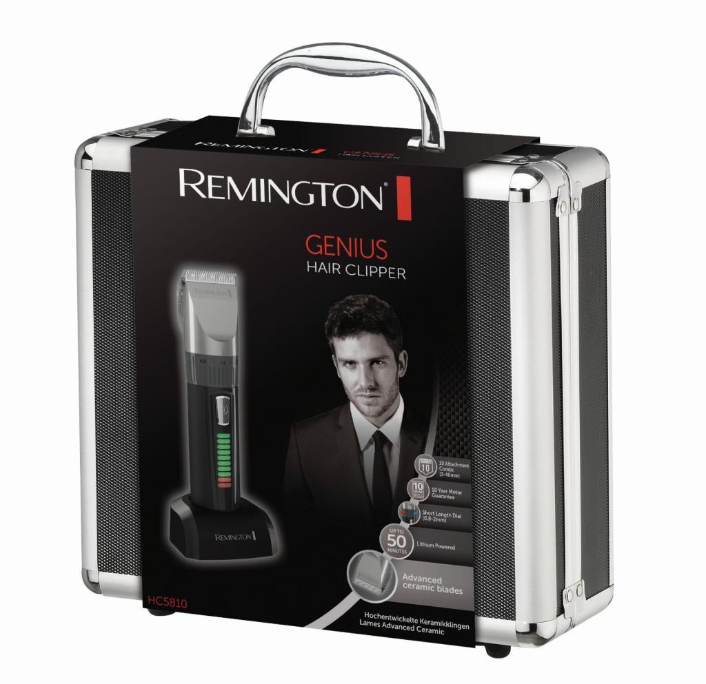 tondeuse cheveux et barbe remington rem hc5810 malette de rangement. Black Bedroom Furniture Sets. Home Design Ideas