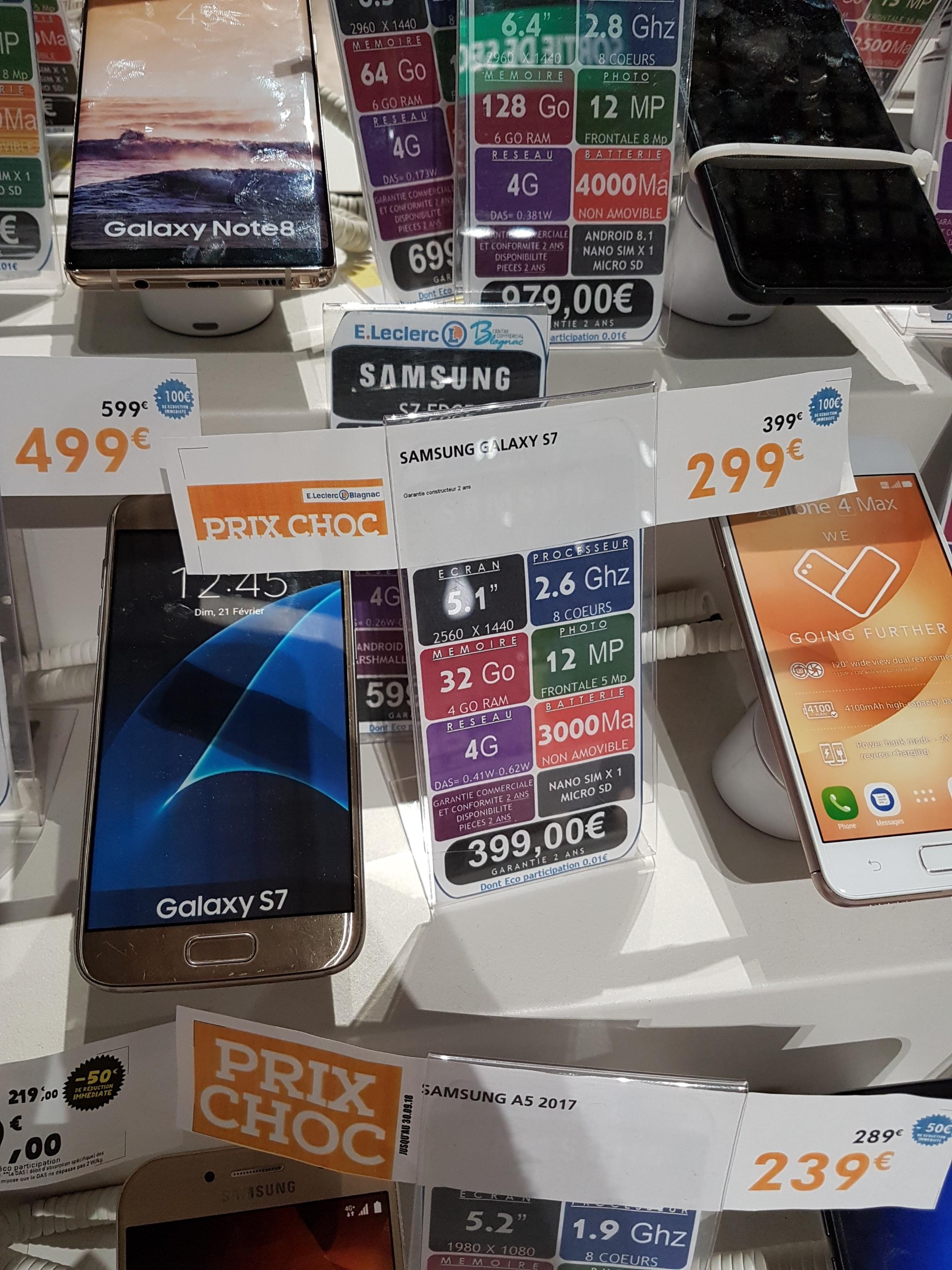 smartphone 5 1 samsung galaxy s7 32go via odr de 70 de bon d 39 achat blagnac 31. Black Bedroom Furniture Sets. Home Design Ideas