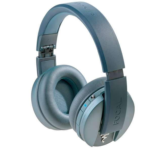 casque audio nomade sans fil focal listen wireless bleu. Black Bedroom Furniture Sets. Home Design Ideas