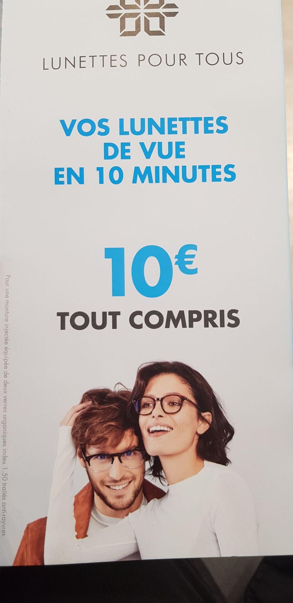 Minutes– De 10 Lunettes Paire En Euros À J5K13TFcul