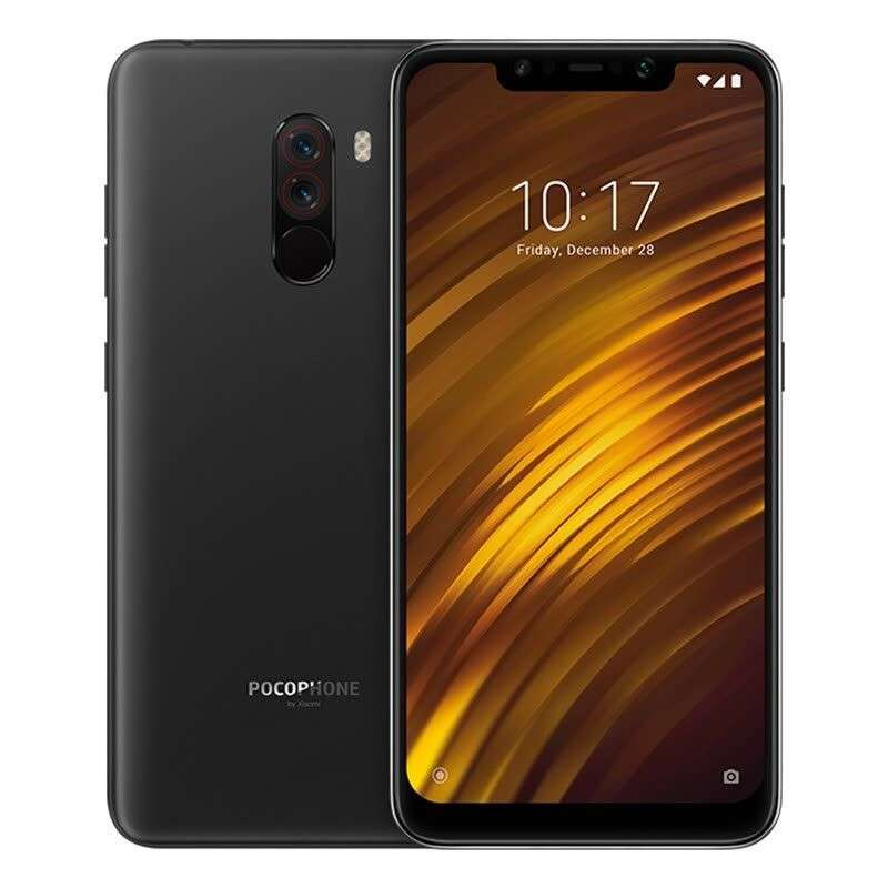 smartphone xiaomi pocophone f1 fhd snapdragon 845 ram 6 go 64 go b20. Black Bedroom Furniture Sets. Home Design Ideas
