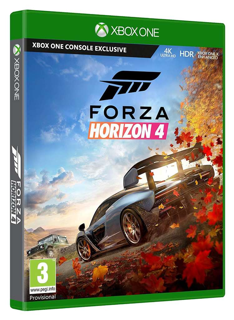 forza horizon 4 sur xbox one. Black Bedroom Furniture Sets. Home Design Ideas