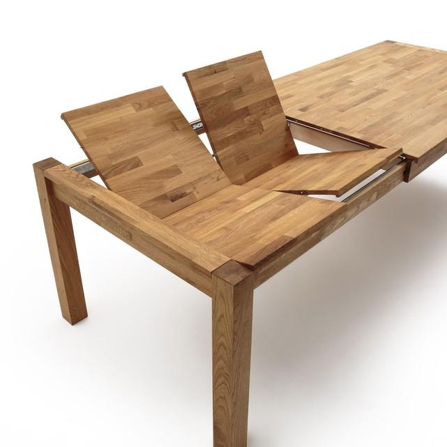 Grande Table A Manger Avec Rallonge: Table En Chêne Massif ADELITA