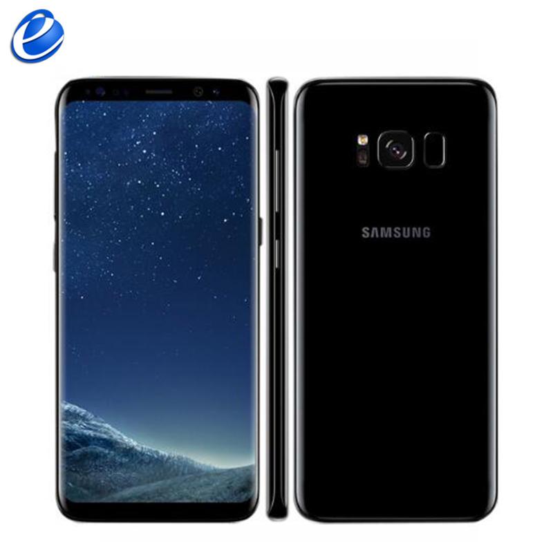 smartphone 6 2 samsung galaxy s8 plus 64 go noir carbone reconditionn. Black Bedroom Furniture Sets. Home Design Ideas