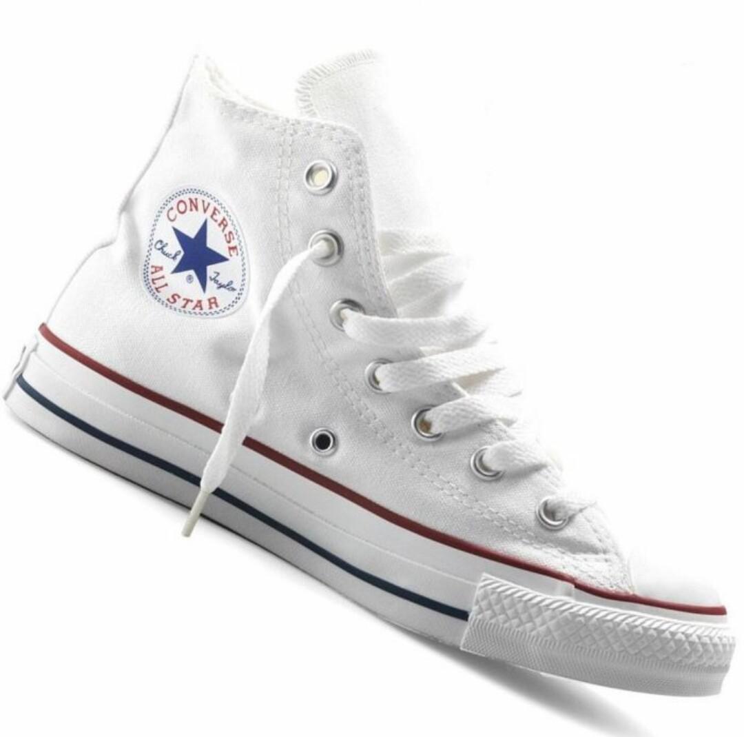 Converse all star chuck taylor blanche hi - Code promo blanche porte 50 et port gratuit ...