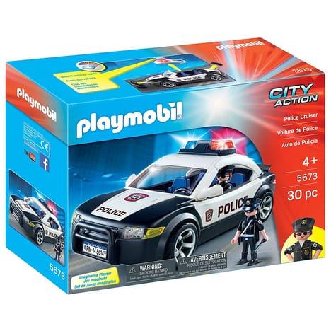 jouet playmobil 5673 city action voiture de police. Black Bedroom Furniture Sets. Home Design Ideas