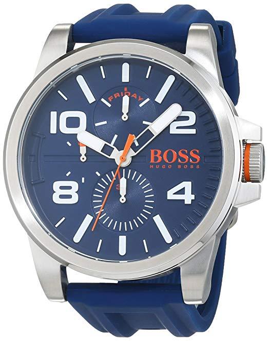 jusqu 39 55 de r duction sur une s lection de montres boss. Black Bedroom Furniture Sets. Home Design Ideas
