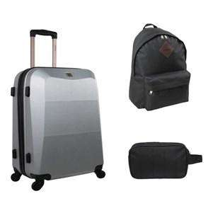 pack zifel valise cabine trolley 55 cm sac dos trousse de toilette. Black Bedroom Furniture Sets. Home Design Ideas