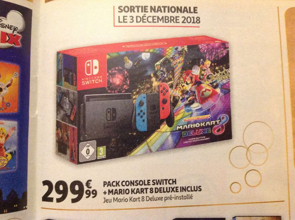 nintendo switch jeux pack