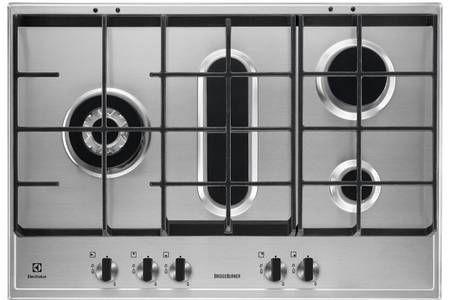 plaque de cuisson gaz electrolux egh7459gox. Black Bedroom Furniture Sets. Home Design Ideas