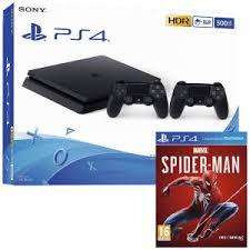 pack console ps4 slim noir 1 to spider man 69 99 via reprise de votre ancienne console. Black Bedroom Furniture Sets. Home Design Ideas