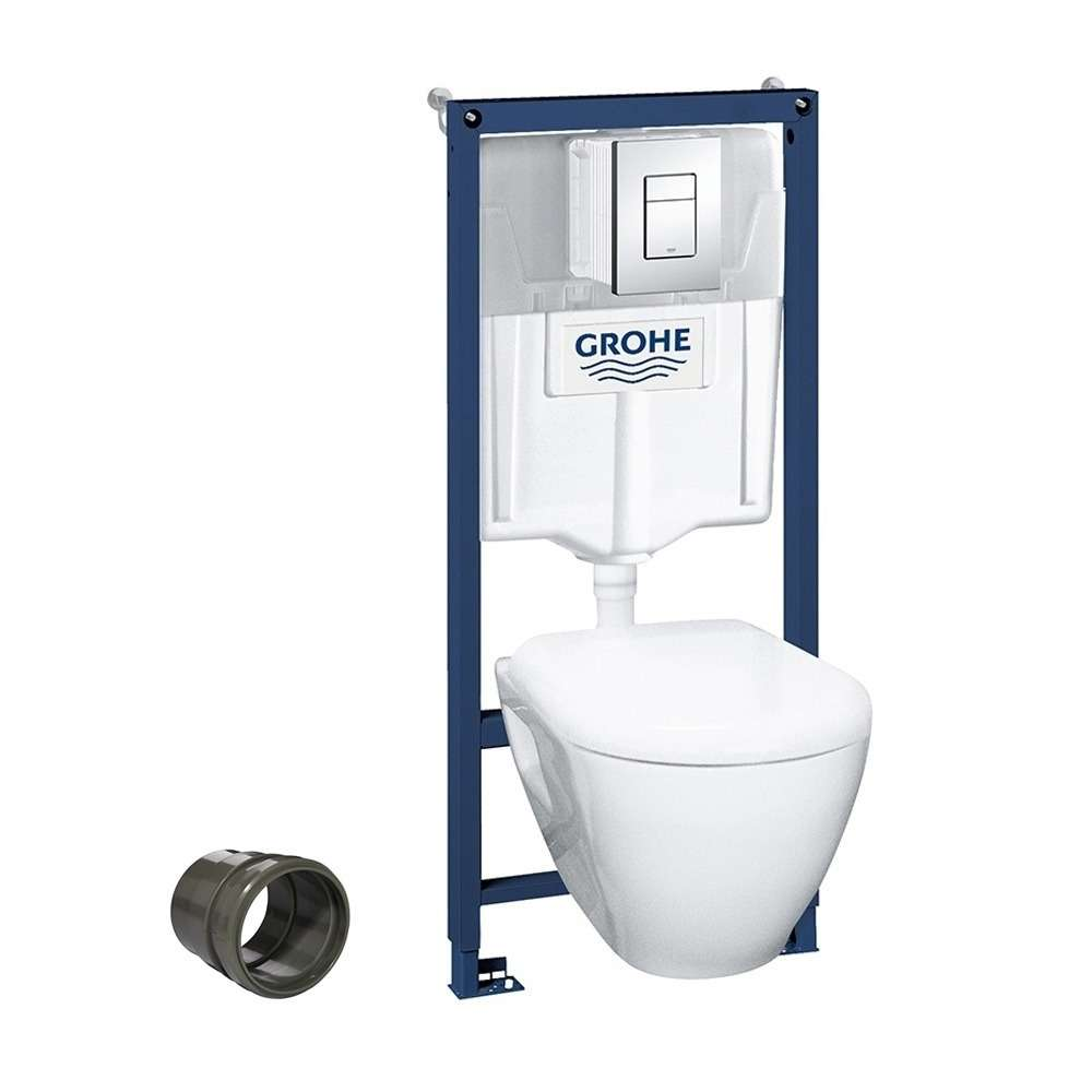 pack b ti wc suspendu grohe sortie pvc. Black Bedroom Furniture Sets. Home Design Ideas