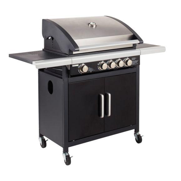 barbecue gaz american 4b side. Black Bedroom Furniture Sets. Home Design Ideas