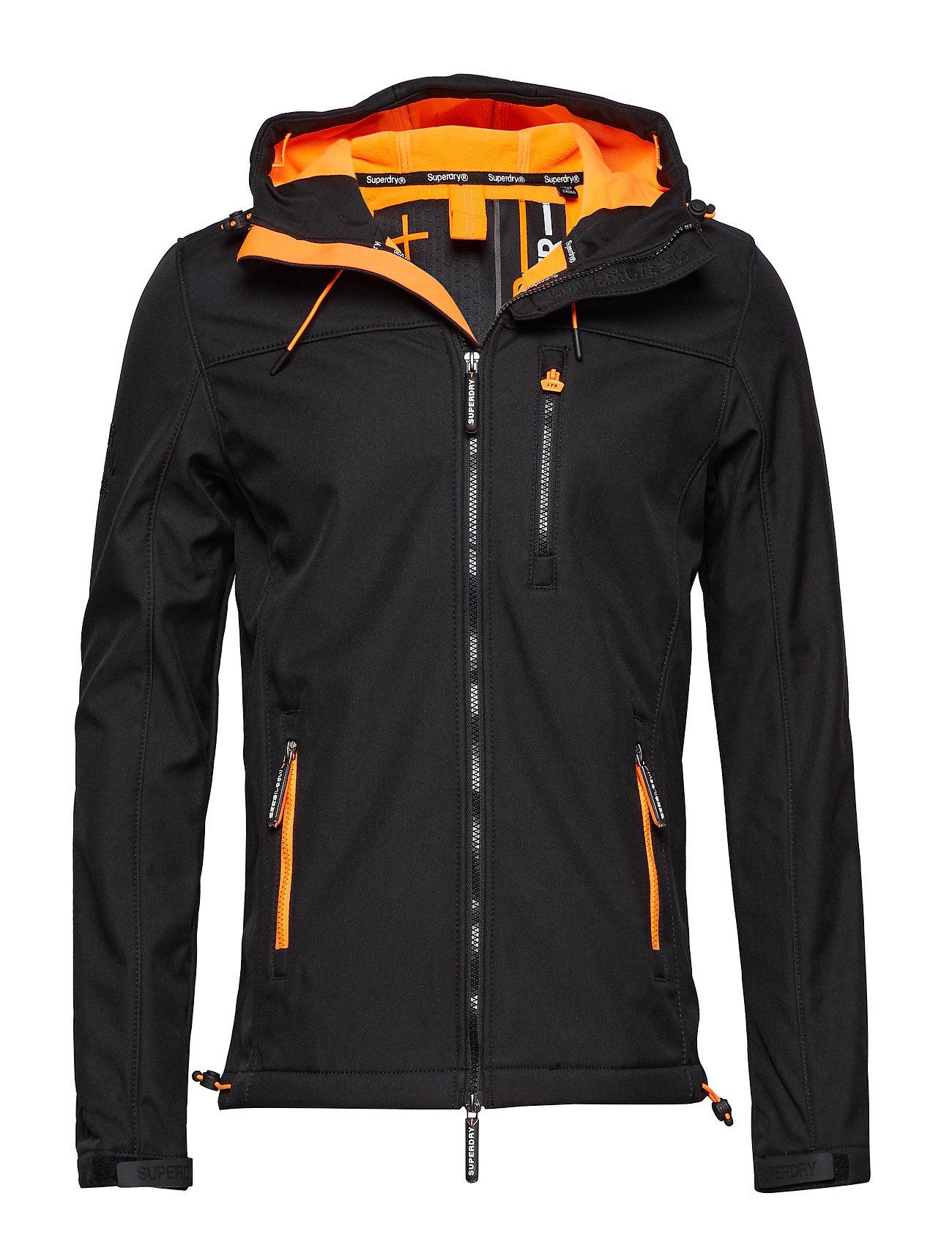 Veste à capuche Superdry Windtrekker Black Orange (boozt.com) – Dealabs.com 79341af39c19