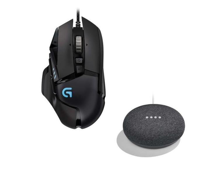 souris logitech g502 proteus spectrum enceinte google home mini charbon. Black Bedroom Furniture Sets. Home Design Ideas