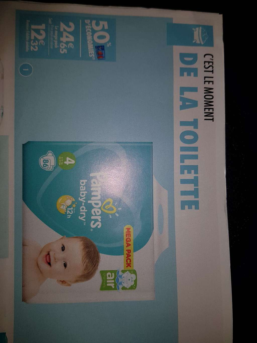 Pack de 86 couches pampers taille 4 via fid lit carrefour - Carrefour couches pampers ...