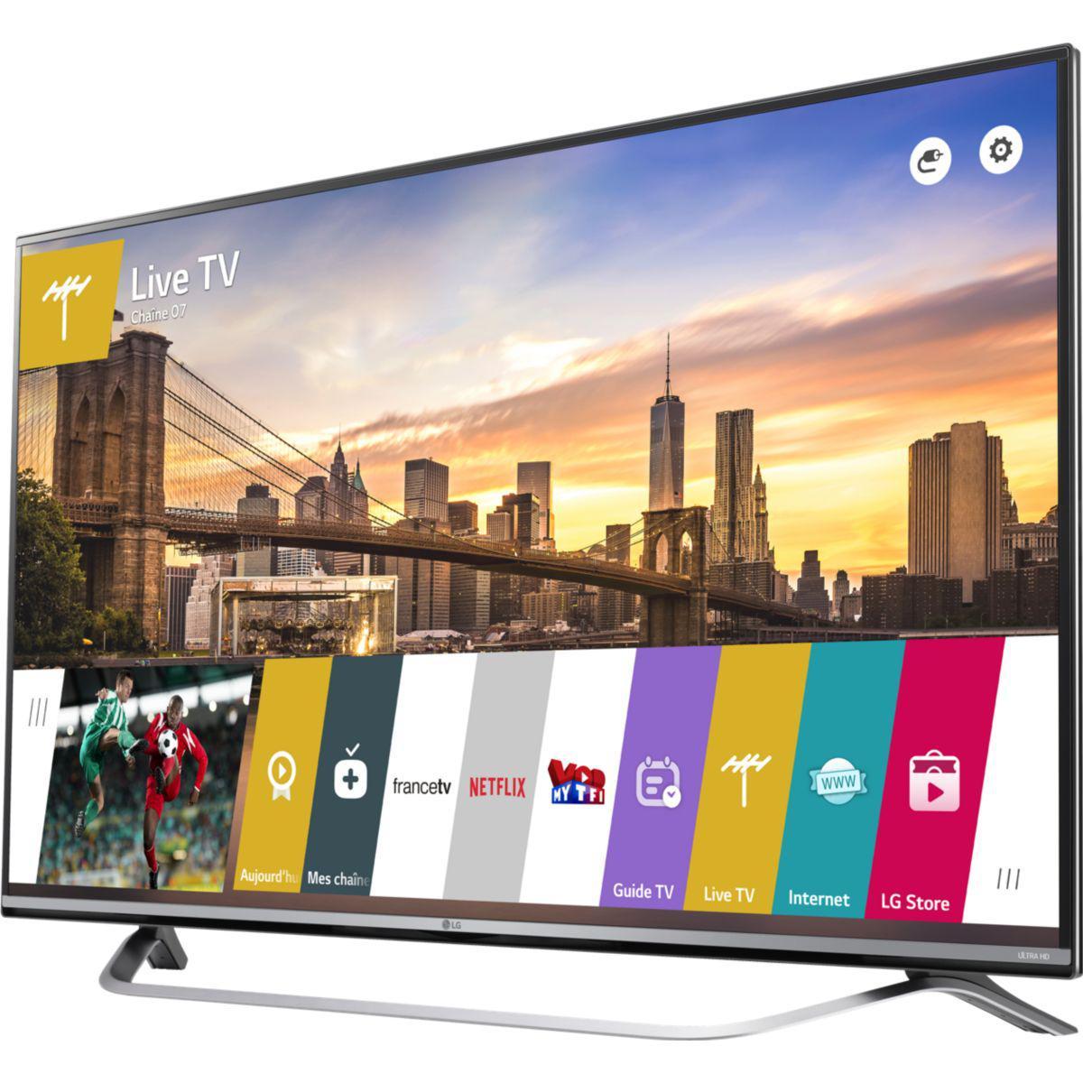 tv 55 lg 55uf778v edge led smart tv 4k uhd via odr de 150. Black Bedroom Furniture Sets. Home Design Ideas