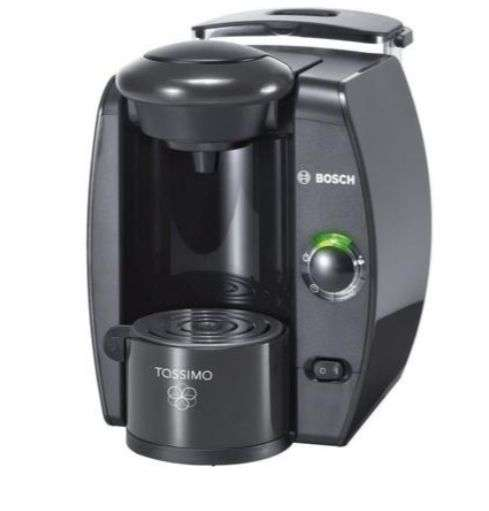 machine caf multi boissons bosch tassimo t40 fidelia 1300 w gris argent. Black Bedroom Furniture Sets. Home Design Ideas