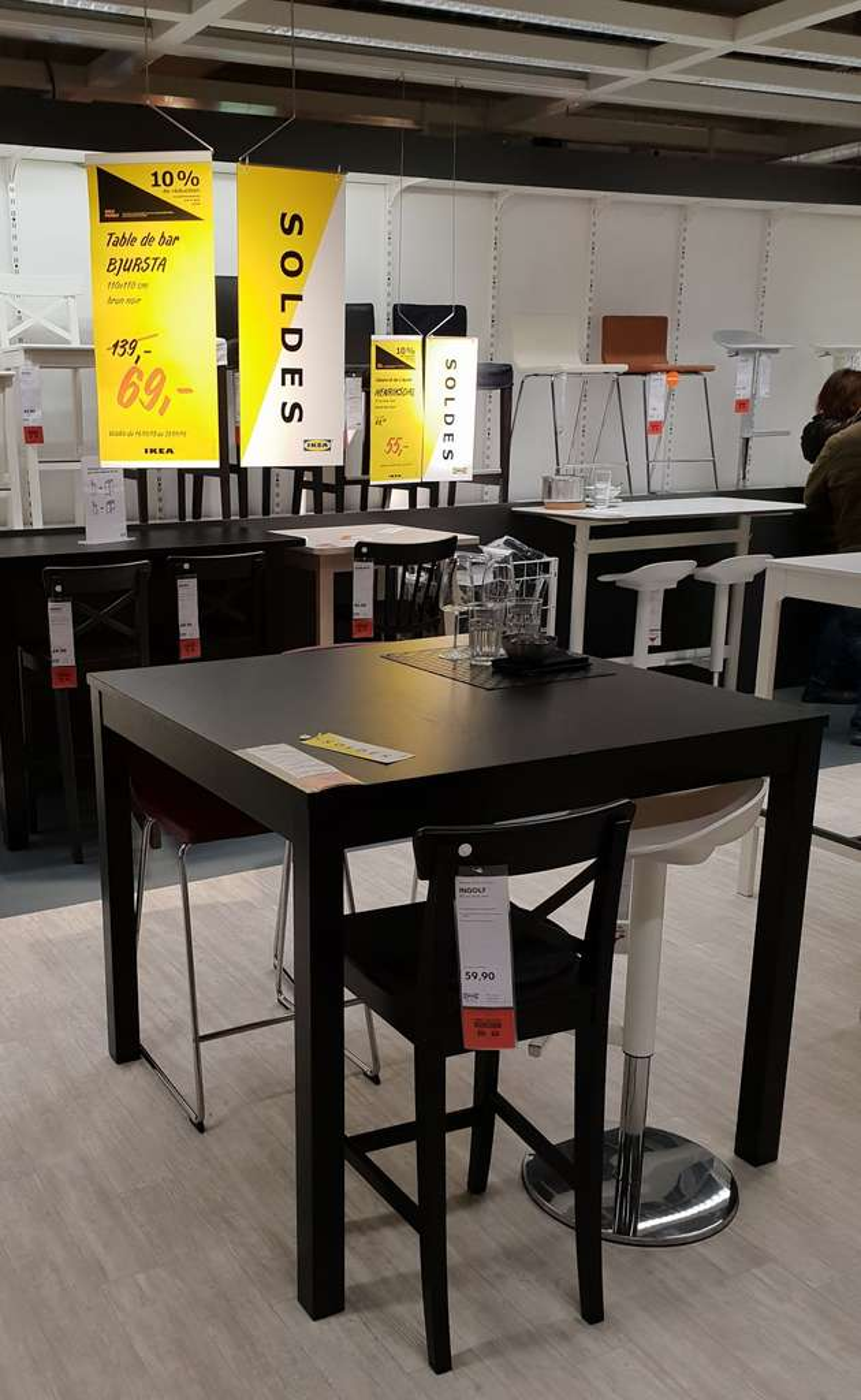 Table De Bar Bjursta Frontaliers Belgique Arlon Dealabs Com