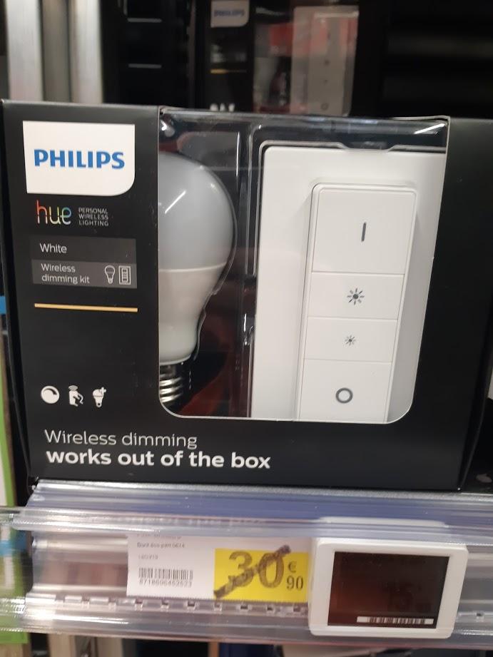 kit philips hue ampoule connect e white e27. Black Bedroom Furniture Sets. Home Design Ideas