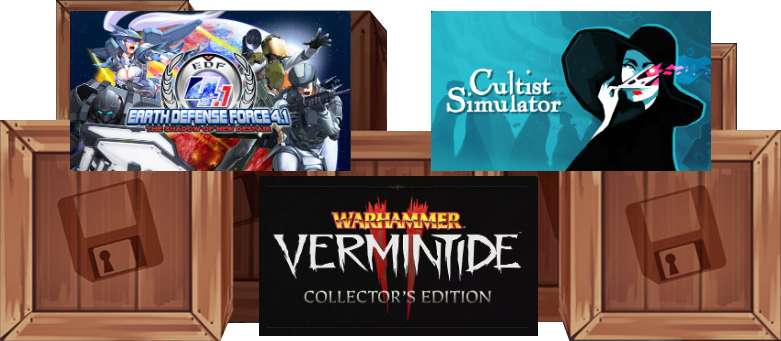 Humble Monthly Bundle : EARTH DEFENSE FORCE 4.1 The Shadow of New Despair, Warhammer: Vermintide 2 + 5 Jeux (Dématérialisés - Steam)