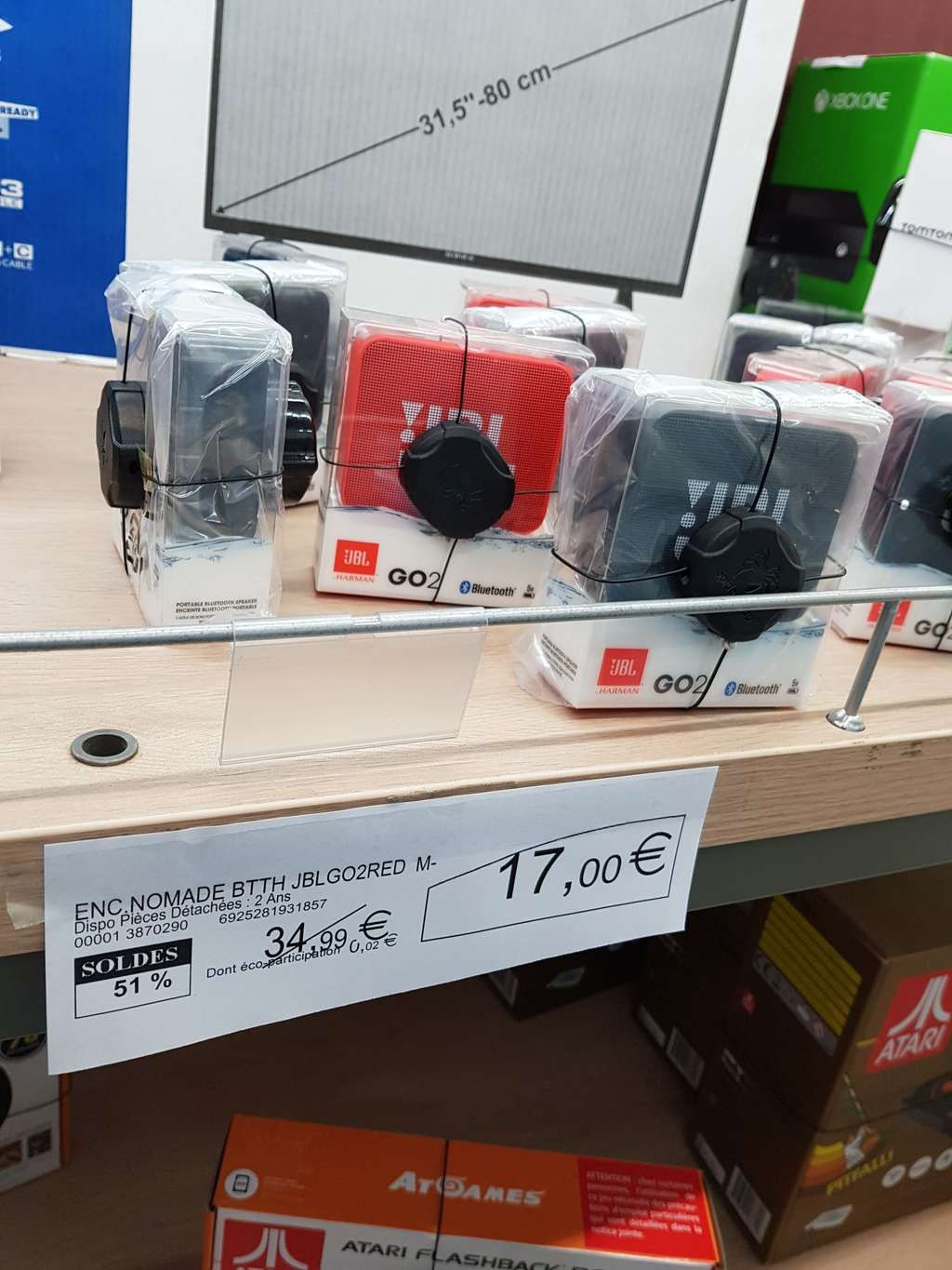 Enceinte Bluetooth JBL GO 2 - Super U Pompignane (34 ...