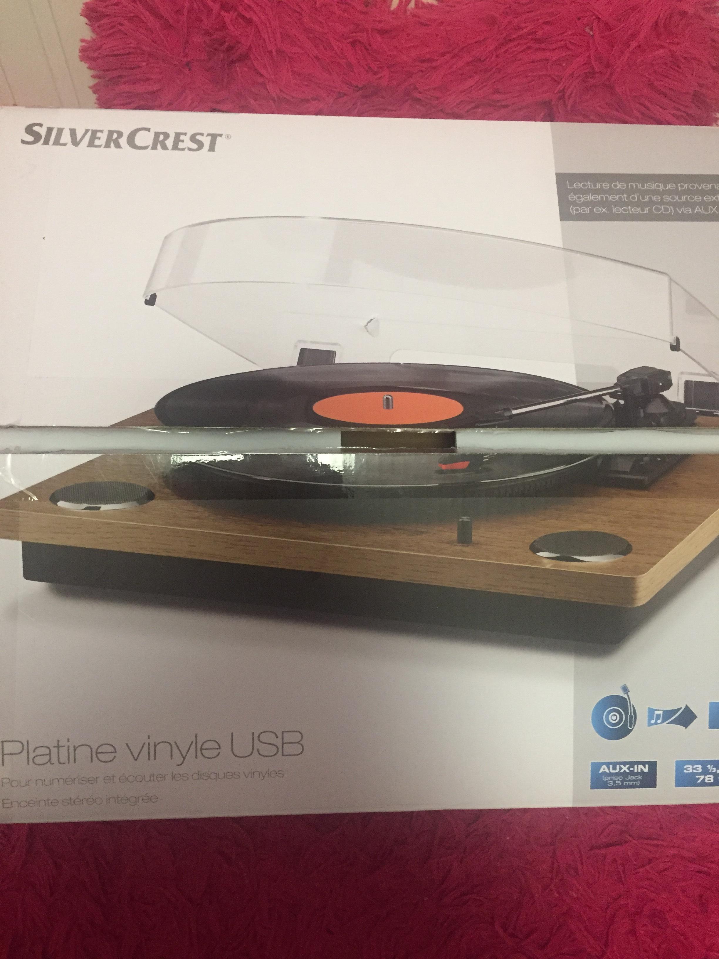 Platine Vinyle Usb Silvercrest Lidl St Martin Dheres 38