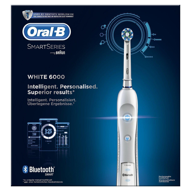 Brosse dents lectrique oral b pro 6000 smartguide - Brosse a dent electrique de voyage ...