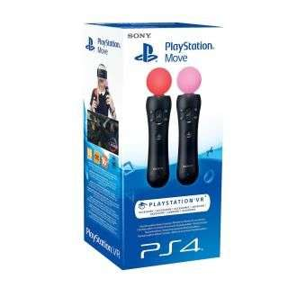 san francisco well known sale Pack de 2 Manettes Sans-fil Sony PlayStation Move pour PS4 ...
