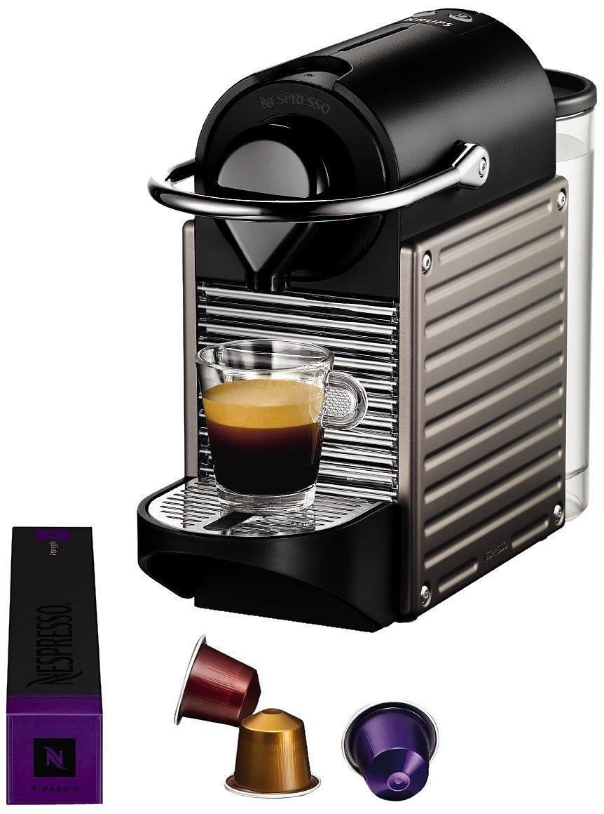 cafeti re nespresso krups pixie 150 capsules. Black Bedroom Furniture Sets. Home Design Ideas