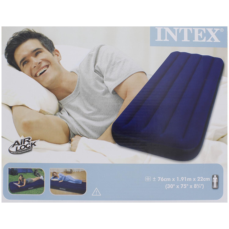 matelas pneumatique intex 76 x 191 x 22cm. Black Bedroom Furniture Sets. Home Design Ideas