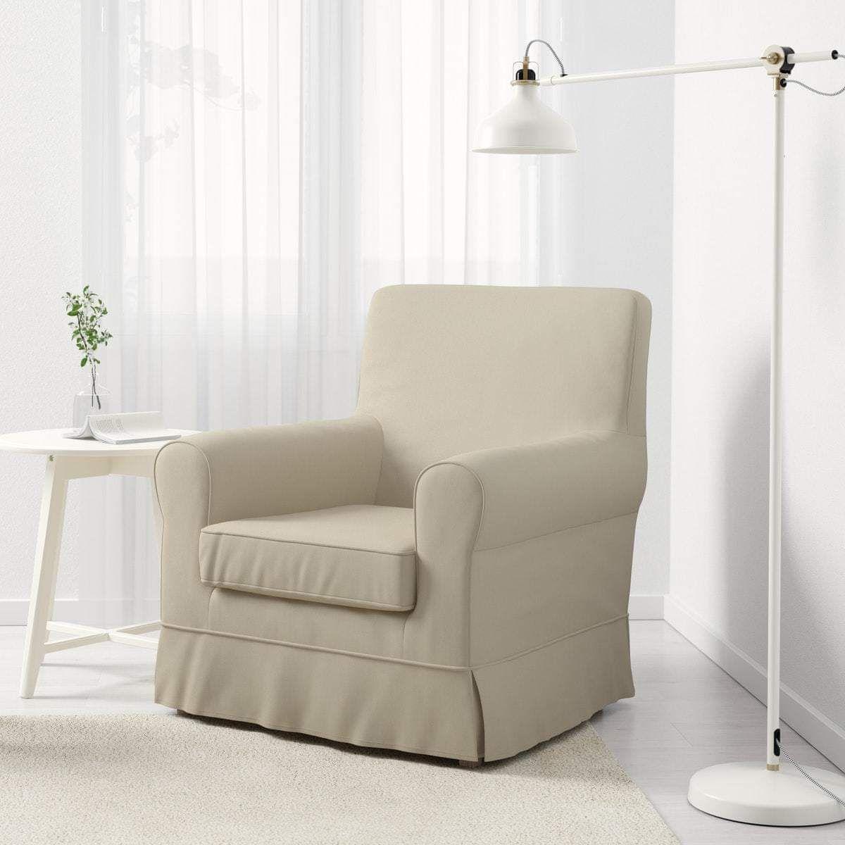 fauteuil ikea jennylund housse tigelsjo beige. Black Bedroom Furniture Sets. Home Design Ideas