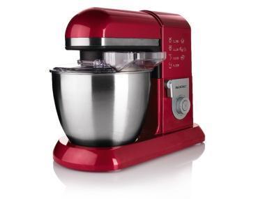 Robot de cuisine culinaire silvercrest 6 3l 1300w rouge for Robot cucina lidl