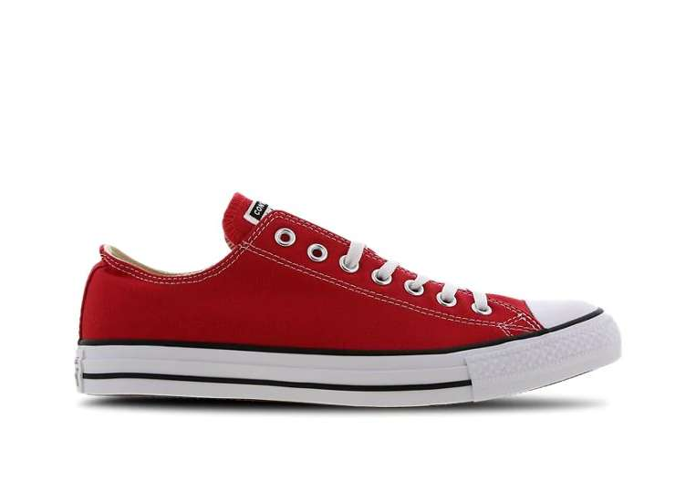 Chaussures Converse Chuck Taylor All Star Low rouge (du 41