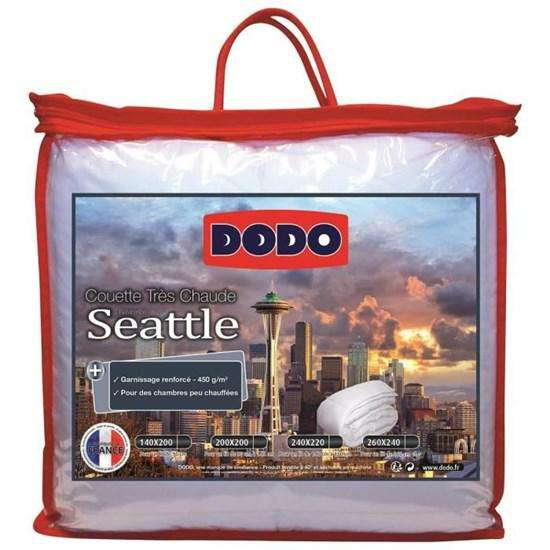 Couette dodo seattle 220x240cm 450g m for Reduc cdiscount 2015