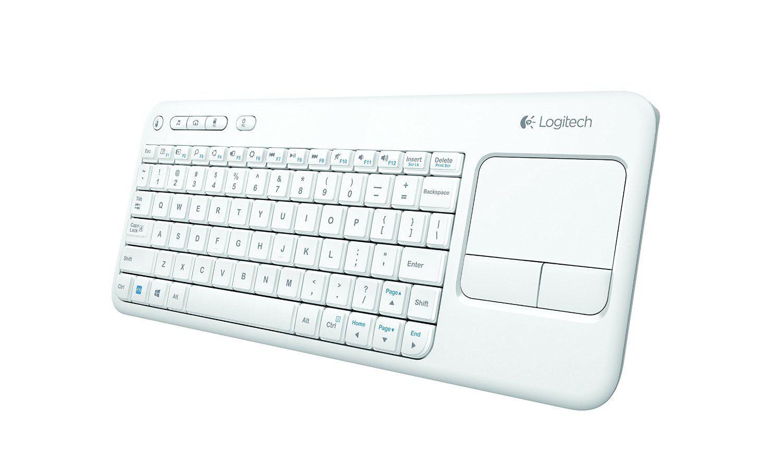 clavier sans fil logitech k400 pour tv pc media center. Black Bedroom Furniture Sets. Home Design Ideas