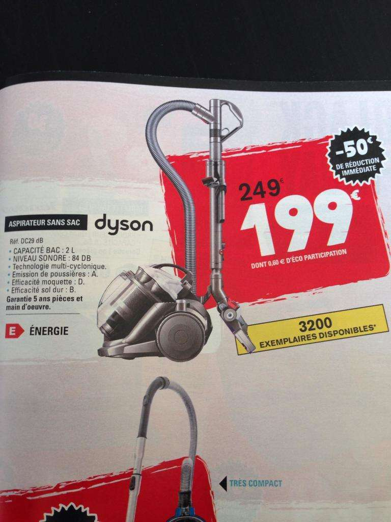 aspirateur dyson dc29 db. Black Bedroom Furniture Sets. Home Design Ideas