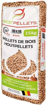 Granules De Bois Bestpellets 100 Resineux 15 Kg Dealabs Com
