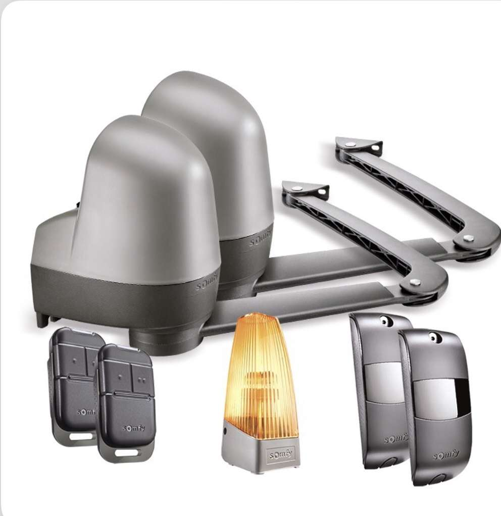 motorisation somfy sga 6000 bras pour portail battant. Black Bedroom Furniture Sets. Home Design Ideas
