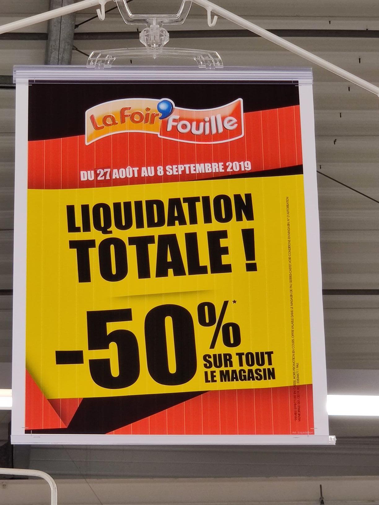 50 De Réduction Sur Tout Le Magasin Serres Castet 64