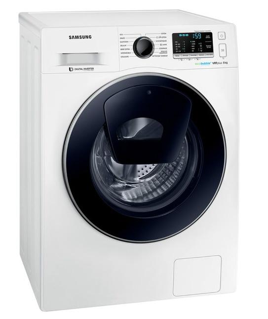 lave linge samsung ww80k5210vw eco bubble add wash 8. Black Bedroom Furniture Sets. Home Design Ideas